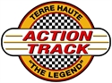 Picture of Terre Haute Action Track logo decal