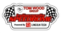 Picture of Speedrome logo window decal